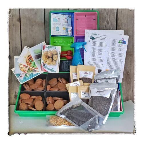 6 month microgreen kit