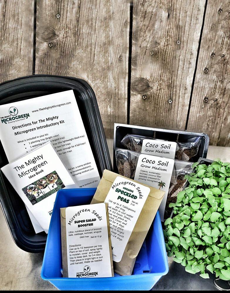 Microgreen Introductory Kit