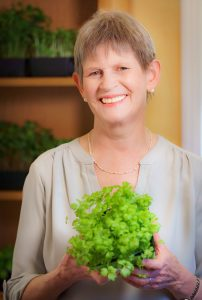 Margo Clayson of The Mighty Microgreen