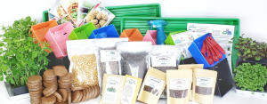 The Mighty Microgreen Family Adventure Kit- a 6 month supply of microgreens