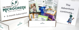 The Mighty Microgreen Adventure Kit with 3 month subscription